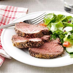 Peppered Beef Tenderloin Roast Recipe
