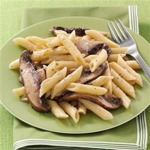 Peppered Portobello Penne Recipe