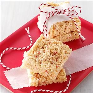 Peppermint Cereal Squares Recipe