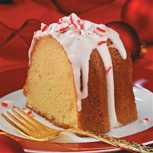 Peppermint Cream Pound Cake Recipe