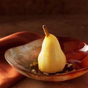 Persian Poached Pears