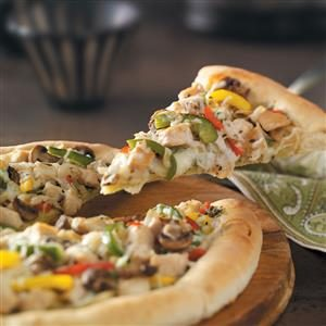 Pesto Chicken Pizza Recipe