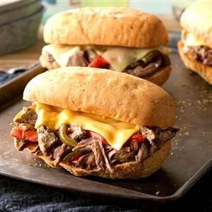 Philly Cheese Sandwiches Recipe