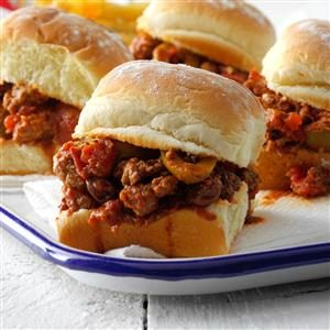 Picadillo Sliders