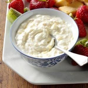 Pina Colada Fruit Dip Recipe