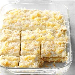 Pina Colada Icebox Cake Recipe