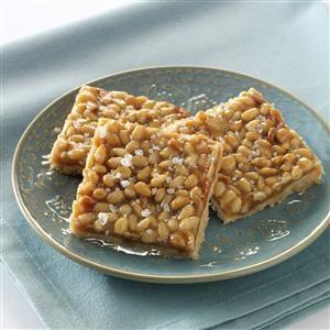 Pine Nut Caramel Shortbread Recipe