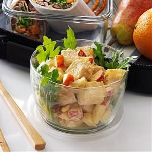 Pineapple-Apple Chicken Salad Recipe