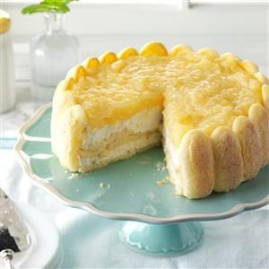 Pineapple Breeze Torte Recipe