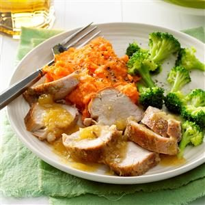 Pineapple-Glazed Pork Tenderloin Recipe