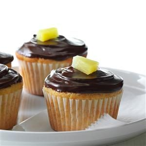 Pineapple Marzipan Cupcakes Recipe