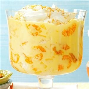 Pineapple Orange Trifle Recipe