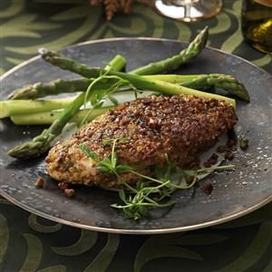 Pistachio-Crusted Chicken Breasts