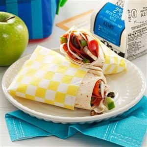 Pizza Wraps Recipe
