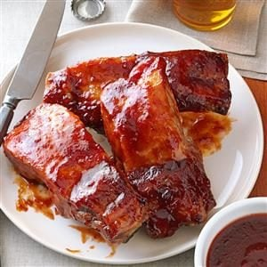 Plum-Glazed Country Ribs Recipe