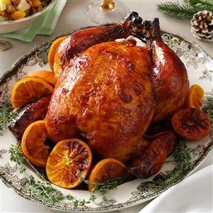 Plum-Glazed Roast Chicken Recipe