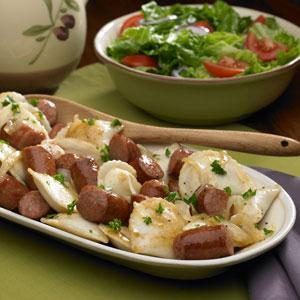 Polish Kielbasa and Pierogies Recipe