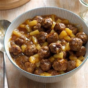 Polynesian Meatballs Recipe