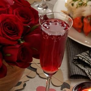 Pomegranate Champagne Cocktail Recipe