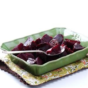 Pomegranate Glazed Beets Recipe