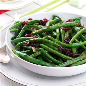 Pomegranate-Glazed Green Beans Recipe