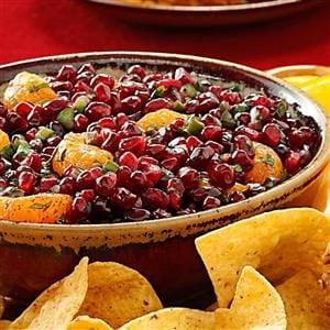 Pomegranate Orange Salsa Recipe