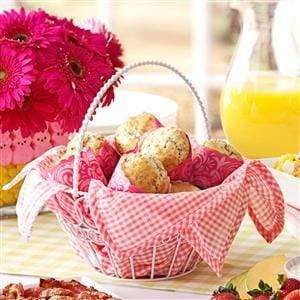 Poppy Seed Pecan Muffins Recipe