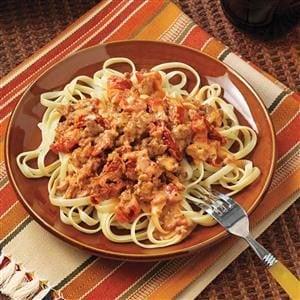 Pork & Tomato Pasta Sauce Recipe