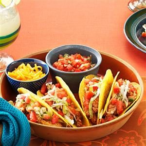 Pork 'n' Pepper Tacos Recipe