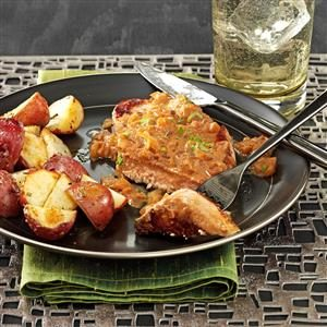 Pork Chops Charcutiere Recipe