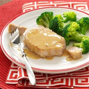 Recipe pork chop mustard sauce