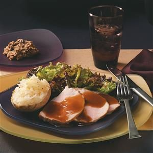 Pork Roast with Gravy Recipe