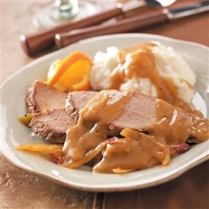 Pork Roast with Twist of Orange Recipe