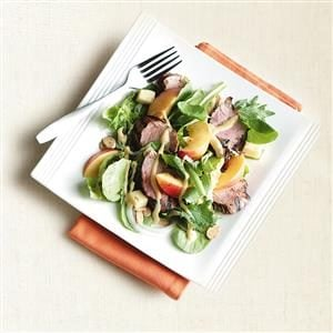Pork Tenderloin Nectarine Salad Recipe