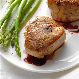 Pork Tenderloin with Wine Sauce Recipe