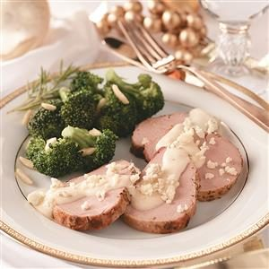 Pork with Gorgonzola Sauce Recipe