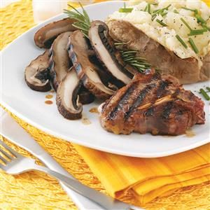 Portobello Lamb Chops Recipe