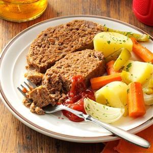 Pot Roast Meat Loaf Recipe