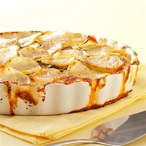 Potato and Mushroom Gratin Recipe