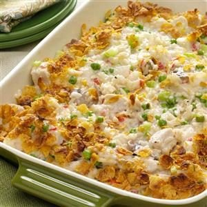 Potluck Chicken Casserole Recipe