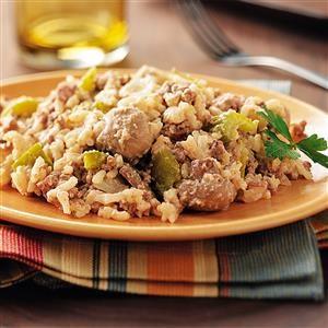 Potluck Mushroom Rice Recipe