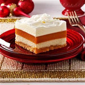 Potluck Pumpkin Torte Recipe