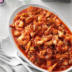 Pressure Cooker Italian Shrimp 'n' Pasta Recipe
