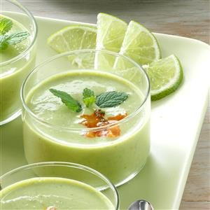 Pretty Pea Soup Cups Recipe