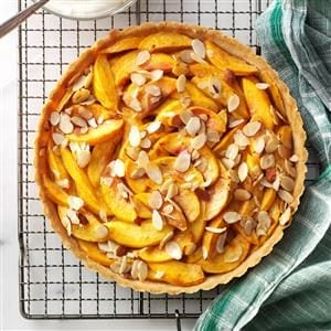 Pretty Peach Tart Recipe