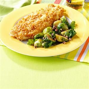 Pretzel-Crusted Catfish Recipe