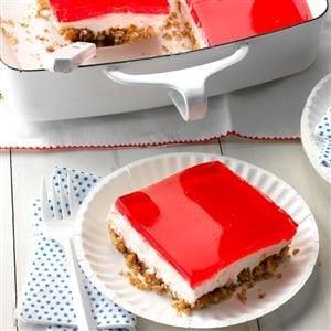 Pretzel Jell-O Dessert
