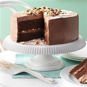 Mocha Hazelnut Torte Recipe