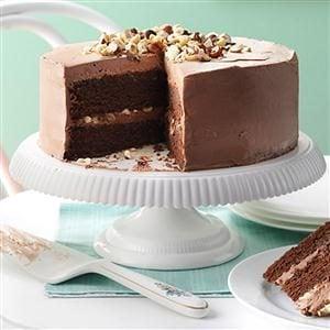 Mocha Hazelnut Torte Recipe
