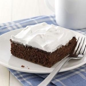 Pudding-Filled Devil's Food Cake Recipe
